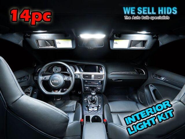2018 PREMIUM AUDI A4 S4 B8 2008-2016 LED INTERIOR UPGRADE KIT SET XENON WHITE