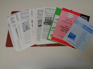 Respectueux Vestal Press House Organ Bulletins 1960-70's (16) Newsletters Catalogues-afficher Le Titre D'origine Effet éVident