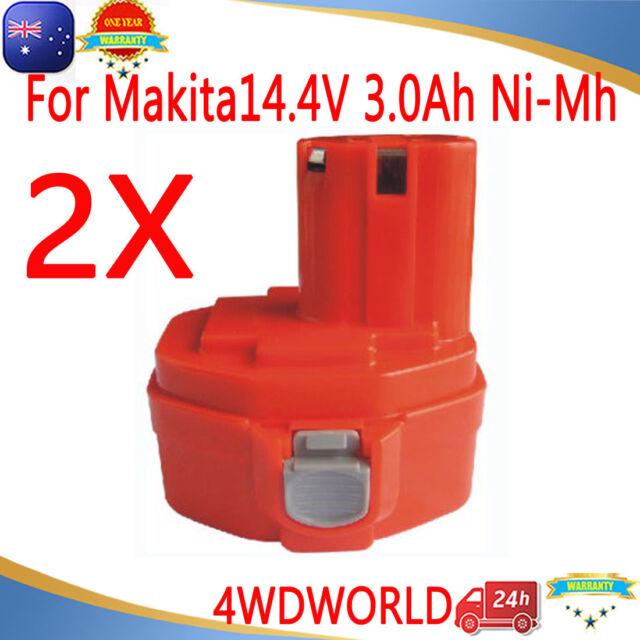 For Makita Battery 3.0Ah 14.4V NI-MH 1420 1422 1433 6237D 6932FD PA14 192699-A