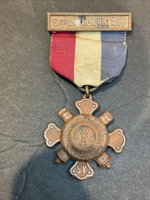 Auxiliary to Sons of Union Veterans of the Civil War Medal 1883