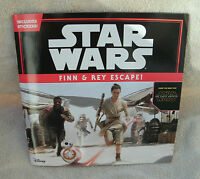 Star Wars: The Force Awakens Finn & Rey Escape (8×8, With 46 Stickers)