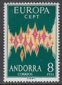 ANDORRA-ESPANOLA-72-EUROPA-ANO-1972-NUEVO-GOMA-ORIGINAL-SIN-FIJASELLOS