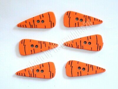 15 un Dress It Up Botones Narices de Zanahoria