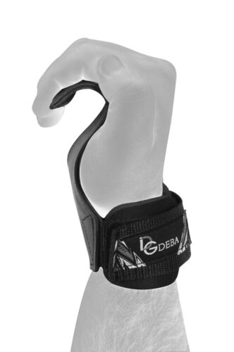 Deba Pair zughilfe Wrist zugriemen Fitness Pull Up Push Up Hook Bandage DE