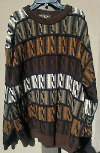 VTG-Protege-Collection-Herren-COOGI-Style-Pullover-Hip-Hop-Biggie-Bill-Cosby-haesslich-2xl