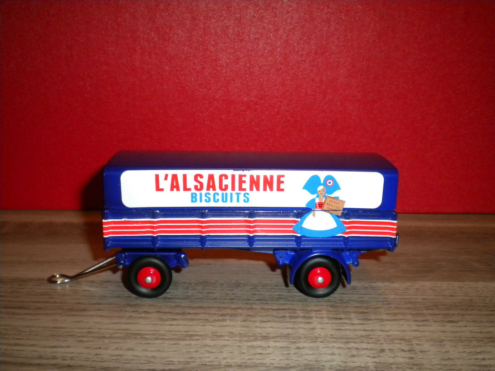 Trailer l alsatian serie limitee 1000 ex cij by norev new in box