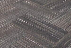 Shaw chevron blur touch of gray carpet tiles 18 x 36 ebay image is loading shaw chevron blur touch of gray carpet tiles ppazfo