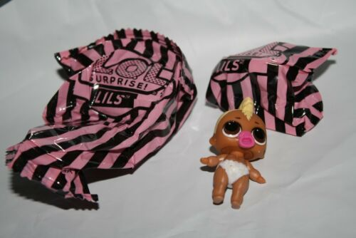 AUTHENTIC MAKEOVER SERIES LOL Surprise LILS LIL RACER BOI BALL TO BAG
