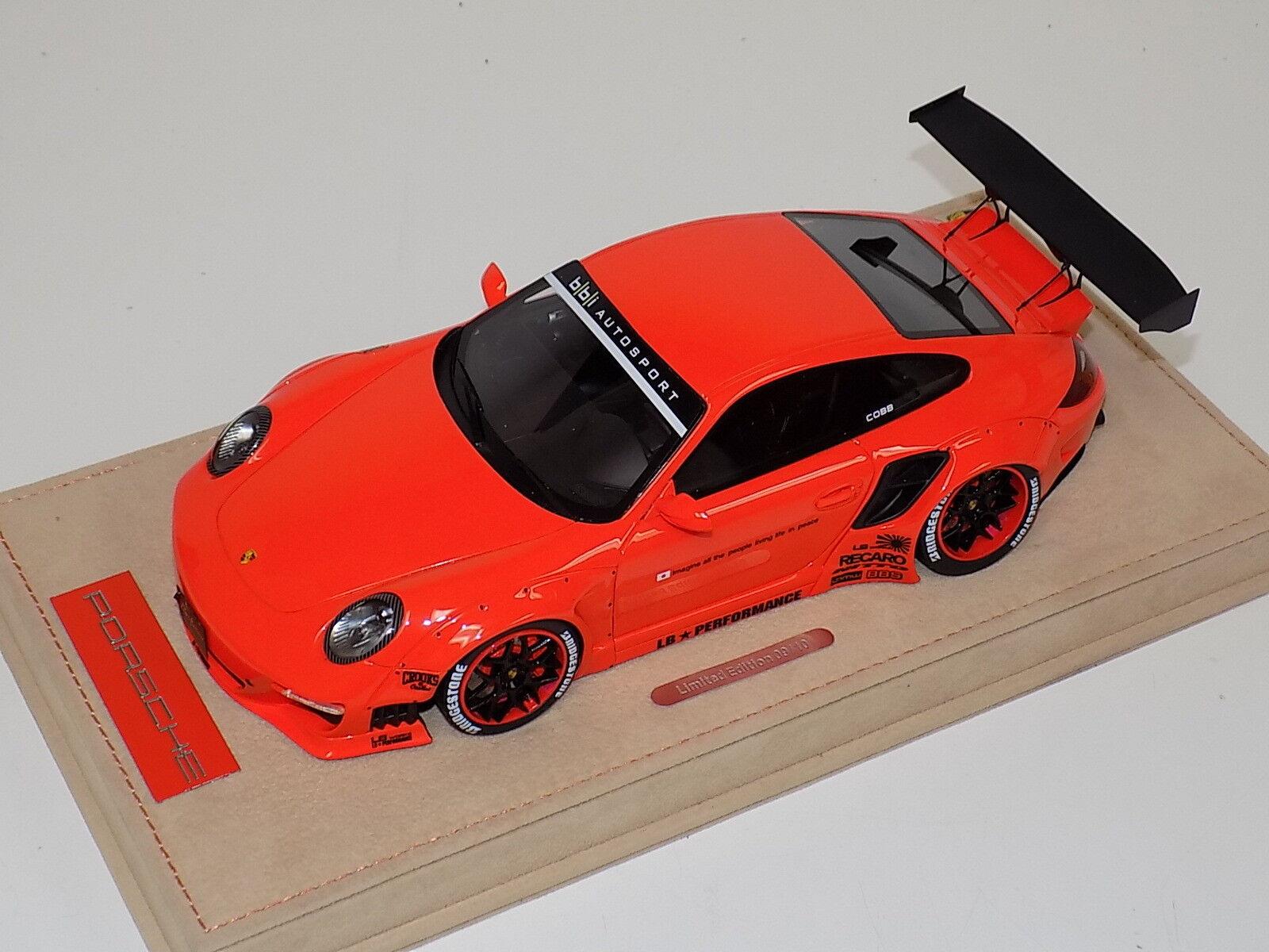 en linea 1 18 ab modelos modelos modelos Porsche 911 Liberty Walk lb calcomanías de naranja brillo de rendimiento 03D  Las ventas en línea ahorran un 70%.