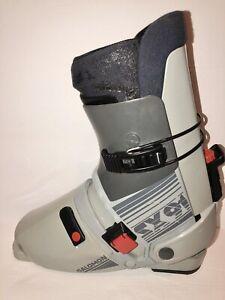 Vintage-Salomon-SX91-Rear-Entry-Downhill-Ski-Boots-Size-330-335-Shipping-Fed-Ex