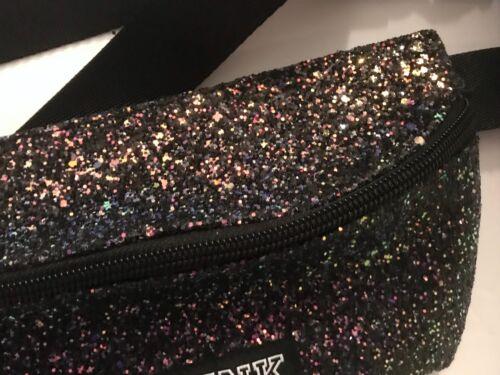 Logo Victoria's Multi Color Heuptasje Black Secret Glitter Heuptasje Pink mn0OyvN8w