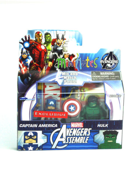 Marvel Minimates Captain America & Hulk Walgreens Exclusive Avengers Assemble