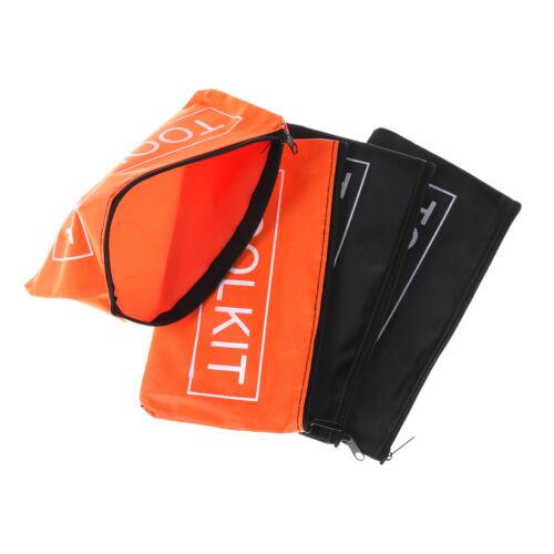 2X Oxford Cloth Tools Set Bag Zipper Storage Instrument Case Pouch Waterproof JH