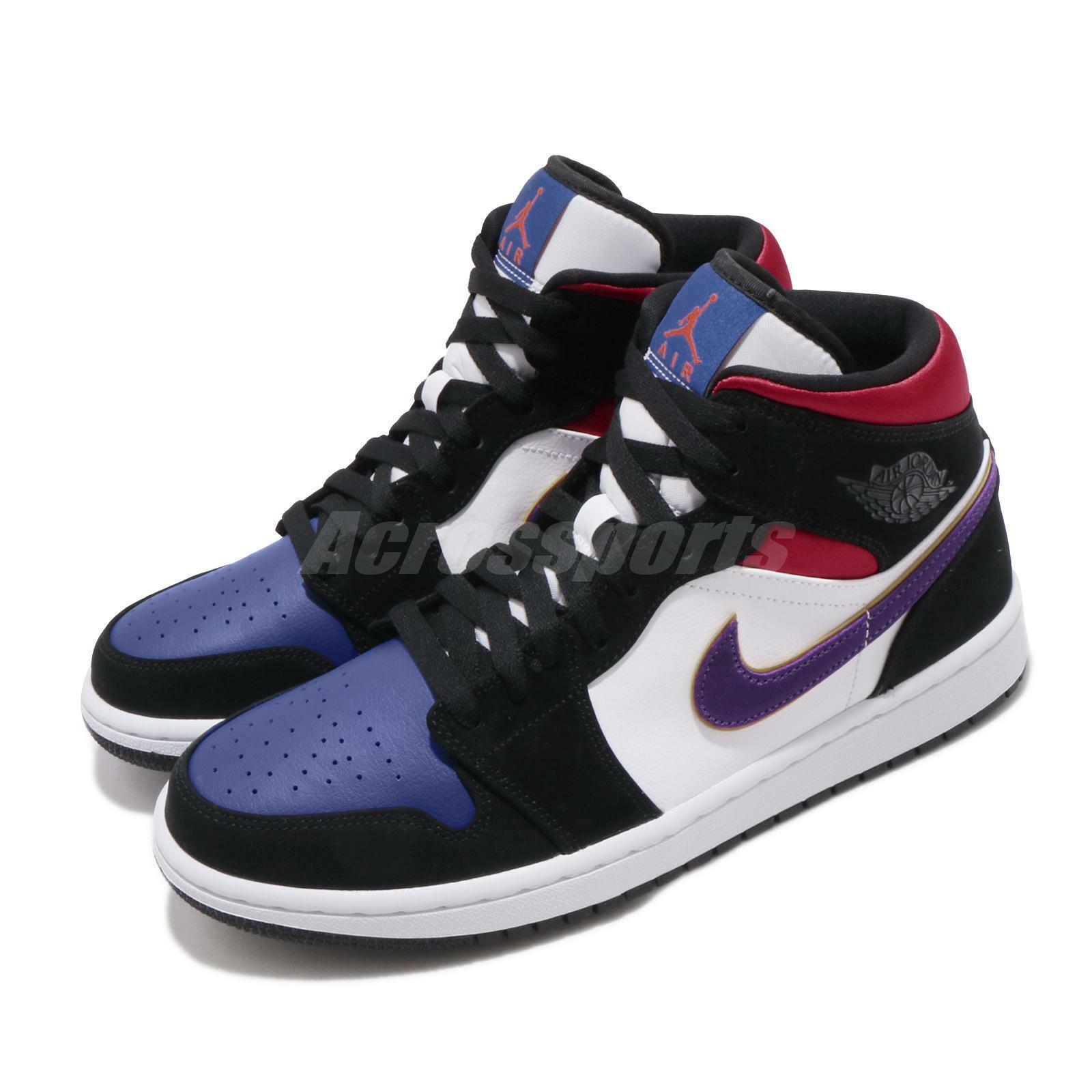 4b6279b7 Nike Air Jordan 1 Mid Premium Sz 10.5 Wool Winterized Black Red Gray 852542  001 for sale online | eBay