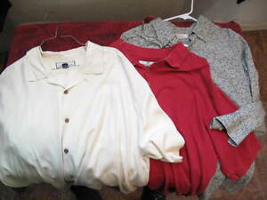 TOMMY BAHAMA  MENS SHIRT LOT OF 3 *SIZE XL*