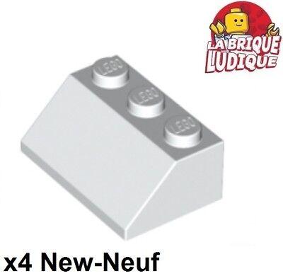 4x Steigung Lego Neigung Geneigt 45 2x3 Weiß/white 3038 Neu Ruf Zuerst Lego Lego Bausteine & Bauzubehör Baukästen & Konstruktion