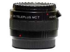 Kenko AF SDM Compatible 7 Element 2x Teleconverter Lens Pentax K1 Full F