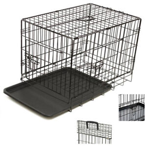 Small-Pet-Cage-24-034-Pet-Cage-With-Plastic-Removable-Tray-Easy-For-Transport-DCUK