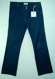 NEW-Indigo-Wash-LONG-Boot-Cut-Mid-Rise-Z-CAVARICCI-Cotton-Spandex-Jeans-12