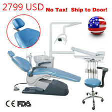 Usa Dental Unit Chair Hard Leather Tj2688 Computer Controlled 4 Hole Ce Approved