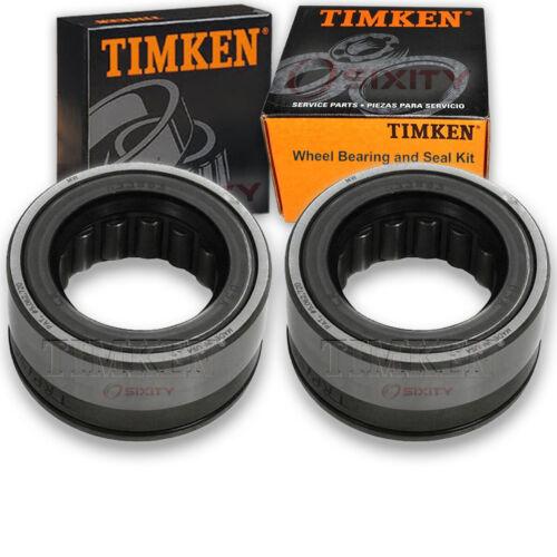 Timken Rear Wheel Bearing /& Seal Kit for 1966-1996 Chevrolet Caprice Pair tm