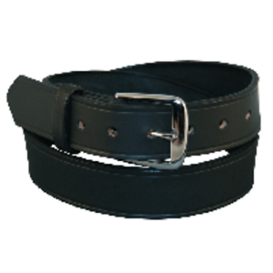 "Boston Leather 6582ST-1-40 Black Plain Stitched Edge 1-1//2/"" Off Duty Belt 40/"""