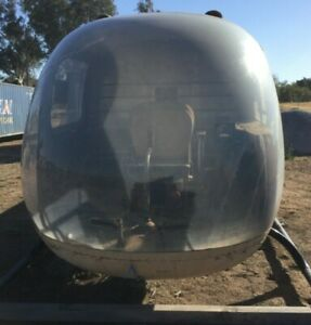 Bell 47J Helicopter air frame w/ PAPERS no engine rotors SOLD AS PARTS WILL SHIP