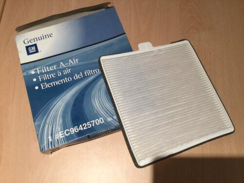 Genuine Chevrolet Daewoo Matiz Spark pollen filtre 96425700 ec96425700