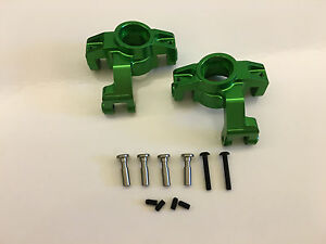 Fumi Alloy HD Steering Block (2) for Axial YETI XL - 21909g (GREEN)