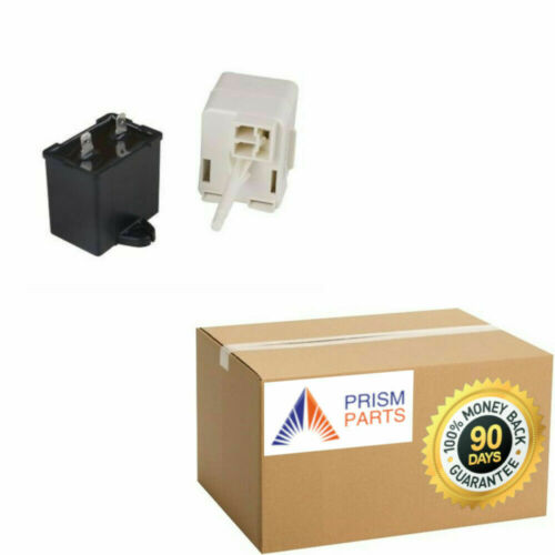 For Amana Refrigerator Start Relay Run Capacitor Device # PP4877875AM261