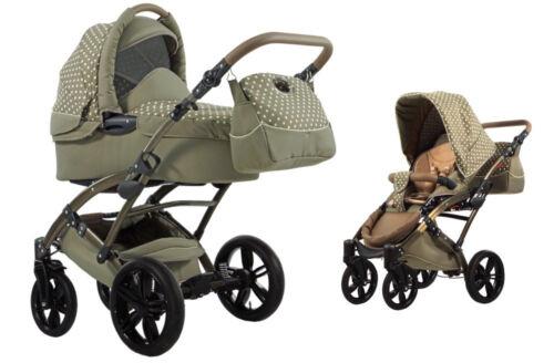 1 von 1 - Knorr Baby 2in1 Kinderwagen Voletto Tupfen Limited Edition sand-beige 33000-03