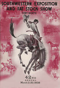 1938-Ft-Worth-Fat-Stock-Show-amp-Rodeo-VINTAGE-RODEO-POSTER