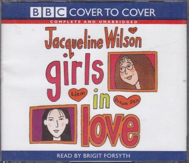 Girls in Love Jacqueline Wilson 3CD Audio Book Brigit Forsyth Unabridged