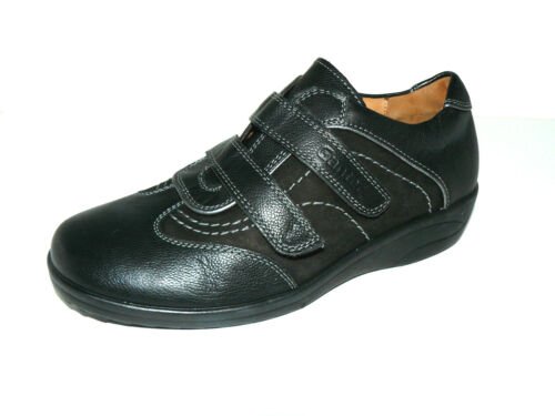 2015c8ce9abb0f Slipper Leder Schwarz Neuware 37 H Schuhe Halb Damen Ganter Uk 4 Einlagen  TUzBtt