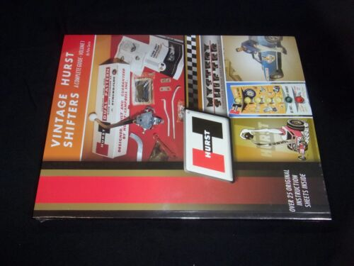 NEW VINTAGE HURST SHIFTERS BOOK PETE SERIO 144 PAGES HOT ROD COMPLETE GUIDE