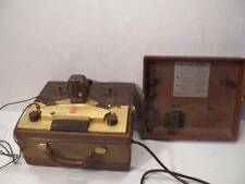 Vintage RCA SRT-301 Push-Button Tape Recorder Reel to Reel w/ Microphone
