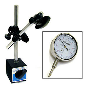 METRIC-DTI-DIAL-INDICATOR-TEST-GAUGE-STAND-WITH-MAGNETIC-BASE-PRECISION-CLOCK