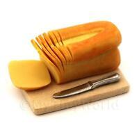 Dolls House Miniature Sliced Split Tin Loaf