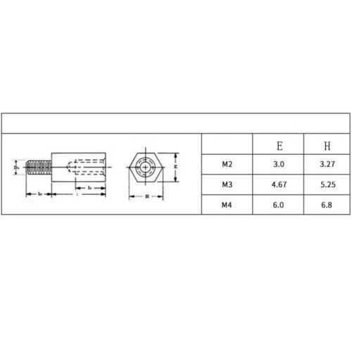 M5 8 303 Stainless Steel Male Female Spacers Hex Column Standoff Pillar Stud