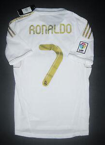 143638163 New 2011 2012 Adidas Real Madrid Cristiano Ronaldo Jersey Shirt Home ...