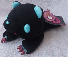 "Official Chax GP TAITO Gloomy Bear Laying Black Soft Plush Toy Japan Kawaii 10"""