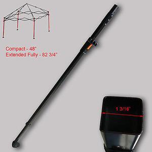 Image is loading First-Up-Ozark-Trail-Gazebo-Canopy-10-X-  sc 1 st  eBay & First Up Ozark Trail Gazebo Canopy 10 X 10 ADJUSTABLE LEG SLIDER ...