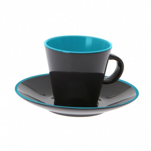 Gimex Tassenset Espresso 4-teilig türkis//grau