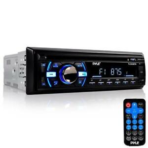 PYLE PLCD43BTM Bluetooth Marine Audio Stereo CD Player, Hands-Free Call Answer, USB/MP3/SD/AUX Canada Preview