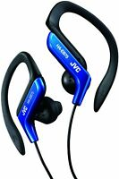 JVC HA-EB75 Ear-Hook Headphones - Blue Headphones