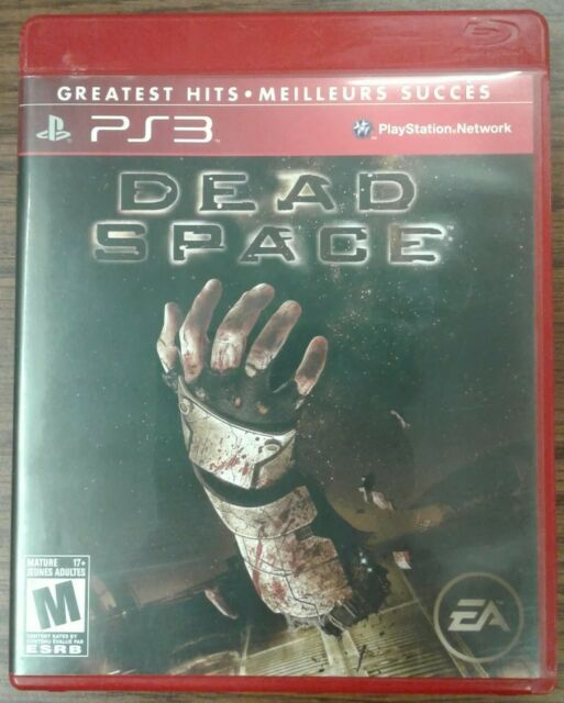 Dead Space (Sony PlayStation 3, 2008) Greatest Hits Issued 2010