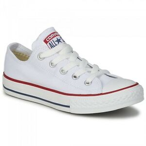 Converse-M7652C-Bianche-Basse-Optic-White-Tela-Classic-All-Star-ox-unisex