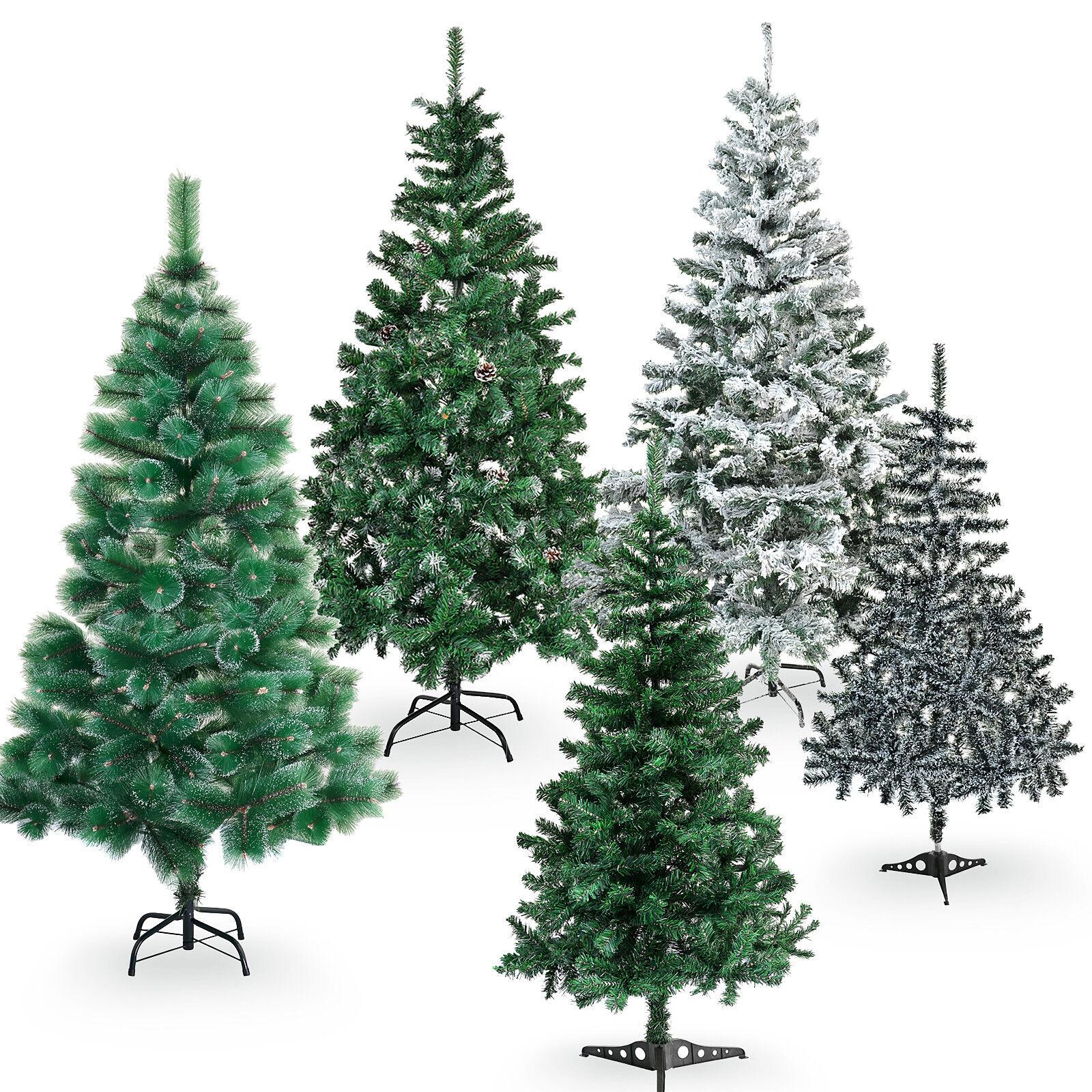 150-180cm Weihnachtsbaum Kunststoff Kunstbaum Dekobaum Christbäume Tannenbäume