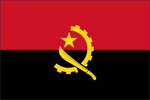 Angola Flag Vinyl Decal Sticker ** 5 Sizes **