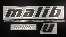 "Malibu boat Emblem 27"" Epoxy Stickers Resistant to mechanical shocks"